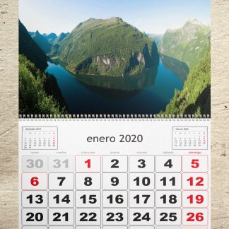 calendario personalizado de pared