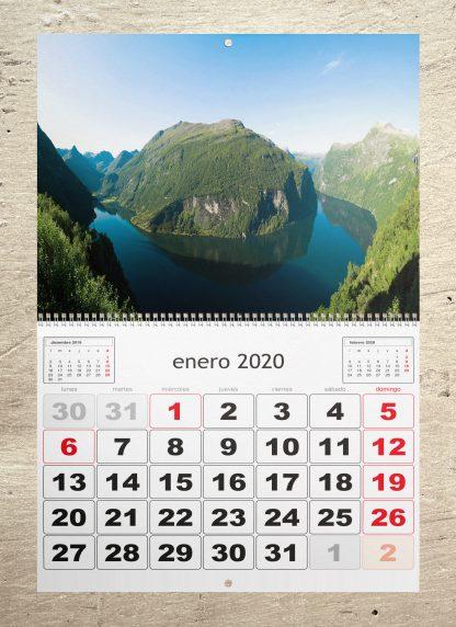calendario personalizado de pared