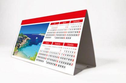 calendario personalizado básico de sobremesa