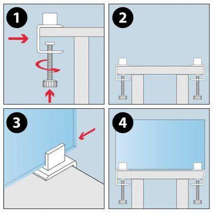 instrucciones mordaza